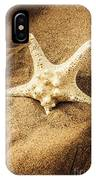 Starfish In Sand IPhone Case