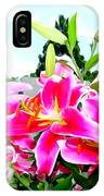 Stargazer Lilies #1 IPhone Case