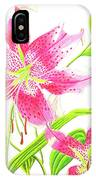 Stargazer Lily #3 IPhone Case