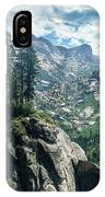 Staring At The Continental Divide IPhone Case