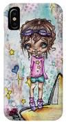 Starla Jones The 3rd Intergalactic Star Jumper IPhone Case