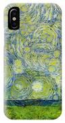 Starry Ballintoy Church IPhone Case