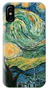 Starry Night After V. Vangogh IPhone Case