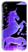 Starry Unicorns IPhone Case