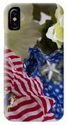 Stars And Stripes Bouquet IPhone Case