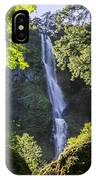 Starvation Creek Falls IPhone Case