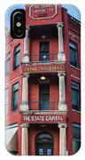 State Capital Entry  IPhone Case
