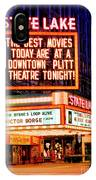 State-lake Theater IPhone Case
