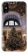 Stately Christmas Tree IPhone Case
