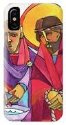 Stations Of The Cross - 01 Jesus Is Condemned To Death - Mmjcd IPhone Case