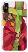 Stations Of The Cross - 02 Jesus Accepts The Cross - Mmjcs IPhone Case
