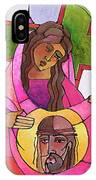 Stations Of The Cross - 06 St. Veronica Wipes The Face Of Jesus - Mmvew IPhone Case
