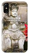 Statue At Pura Besakih IPhone Case