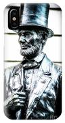 Statue Of Abraham Lincoln #8 IPhone Case