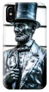 Statue Of Abraham Lincoln #9 IPhone Case