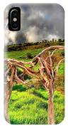 Statue Of Branches 3 IPhone Case