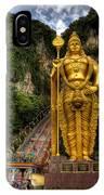 Statue Of Murugan IPhone Case