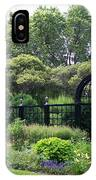 Statues In A Garden IPhone Case