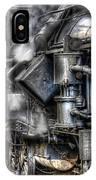 Steam Engine Detail IPhone Case