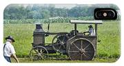 Steam Engine Plowing IPhone Case