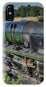 Steam Locomotive 34027 The Taw Valley IPhone Case