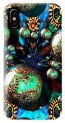 Steampunk Fractal 71216.4 IPhone Case