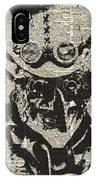 Steampunk Guy IPhone Case