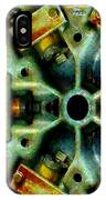 Steampunk Machination 1 IPhone Case