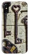 Steampunk - Old Skeleton Keys IPhone Case