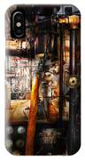 Steampunk - Plumbing - Pipes IPhone Case