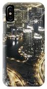 Steel Curtains IPhone Case