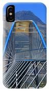 Steel Pedestrian Bridge In Ibarra IPhone Case