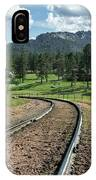 Steel Tracks In The Black Hills IPhone Case