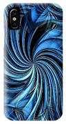 Steel Whirlpool IPhone Case