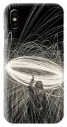 Steel Wool Light Works IPhone Case