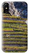 Steep Slope Viticulture In Valais Canton IPhone Case