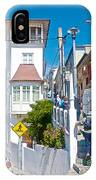 Steep Streets Up The Hills In Valparaiso-chile   IPhone Case