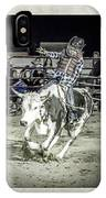 Steer Buck Out _c IPhone Case
