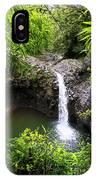 Step Falls Pipiwail Trail 3 IPhone Case