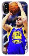 Steph Curry, Golden State Warriors - 19 IPhone Case
