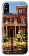 Steven King Home Bangor Maine 1 IPhone Case