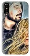Stevie Nicks - Dave Grohl IPhone Case