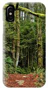 Sticking Out In The Rain Forest IPhone Case