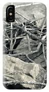 Sticks And Stones 2782 IPhone Case