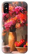 Still - Floral And Fruit IPhone Case
