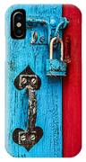 Still Life In Blue And Red IPhone Case