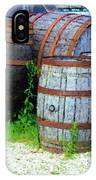 Still Life With Barrels IPhone Case