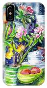 Still Life With Tulips And Apple Blossoms  IPhone Case