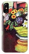 Still Life With Venison And Ostrich Pillow By August Macke IPhone Case