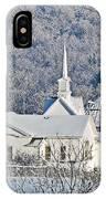 Still The Little White Church In Peoria IPhone Case